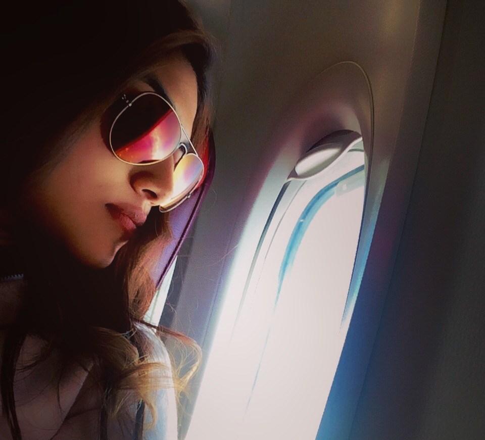 airplane selfies
