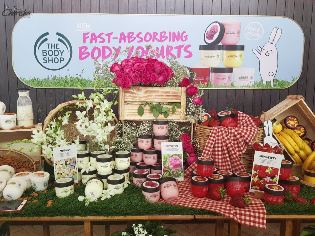 The Body Shop Malaysia - Body Yogurt Launch Event